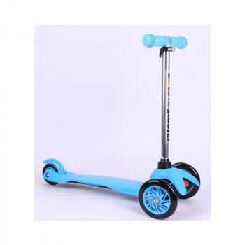 Самокат для діток Scooter від 2 років блакитний