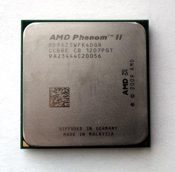 Процесор AMD Phenom II X4 960T Black Edition 3,0 GHz sAM3 Tray 95w (HD96ZTWFK4DGR) Zosma Б/У