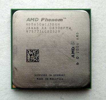 Процесор AMD Phenom X3 8650 2,3 GHz sAM2+ Tray (HD8650WCJ3BGH) Toliman Б/У