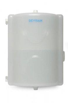 Диспенсер для 2-х рулонів туалетного паперу з центральної витяжкою DEVISAN