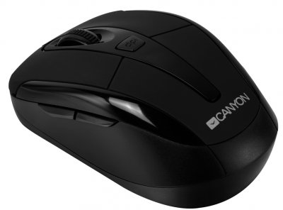Миша Canyon CNR-MSOW06B Wireless Black