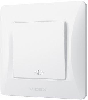1-клавішний вимикач VIDEX Binera Білий (VF-BNSW1-W)