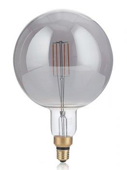 Світлодіодна лампа Ideal Lux Vintage Xl E27 4W Globo Big Fume' 2200K (204536)