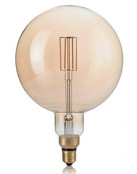 Світлодіодна лампа Ideal Lux Vintage Xl E27 4W Globo Big 2200K Dimmer (223834)