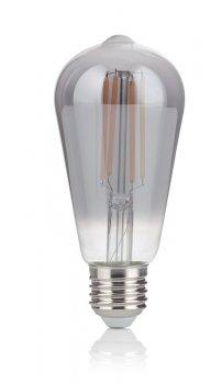 Світлодіодна лампа Ideal Lux Vintage E27 4W Cono Fume' 2200K (204451)