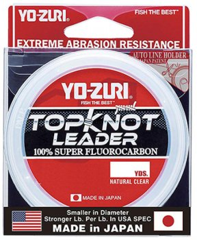 Флюорокарбон Yo-Zuri Topknot Leader 30 YDS 40 Lbs (0.570 мм) (R1232-NC)