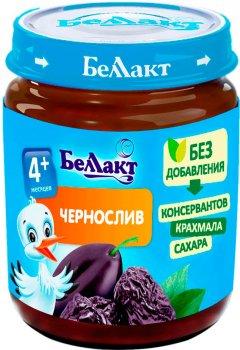 Упаковка фруктового пюре Беллакт з чорносливу 12 банок по 100 г (4814716000683_12)