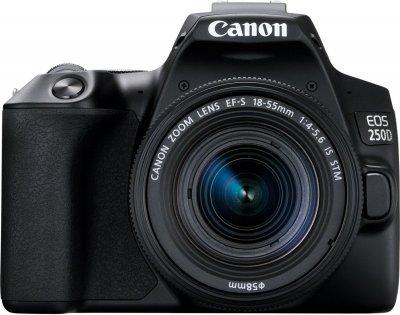 Фотоаппарат Canon EOS 250D BK 18-55 IS (3454C007AA) Официальная гарантия!