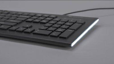 Клавиатура проводная Canyon CNS-HKB2-RU USB