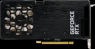 Palit PCI-Ex GeForce RTX 3060 Dual OC 12GB GDDR6 (192bit) (1320/15000) (3 x DisplayPort, HDMI) (NE63060T19K9-190AD)