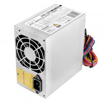 Блок живлення Logicpower ATX-450W; 8cm fan, OEM, без кабелю живлення