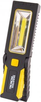 Фонарь магнитный с подвесом Mastertool 220 х 54 х 28 мм, 4 x LED + COB LED, 3 x AAA, ABS (94-0808)