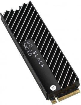 Western Digital Black SN750 NVMe SSD 500GB M.2 2280 PCIe 3.0 x4 3D NAND (TLC) (WDS500G3XHC)