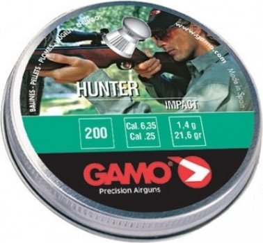 Пули Gamo Hunter 6.35, 200 шт