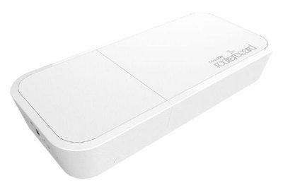 Точка доступу MikroTik wAP White (RBWAP2ND) (N300, 650MHz/64Mb, 1х100Мбит, антена 2дБи, всепогодний білий корпус)