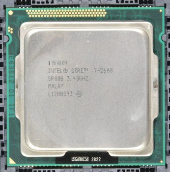 Процесор Intel Core i7-2600 3.40 GHz/8MB/5GT/s (SR00B) s1155, tray