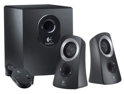 Акустична система Logitech Z313 Black (980-000413)