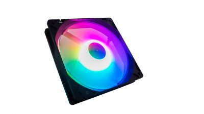 Вентилятор Tecware ARC Spectrum F1 Starter Kit (TW-ARC-F1-SK4), 120х120х25мм, 3-pin, чорний з білим