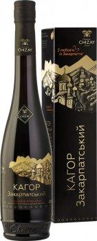 Вино Chizay Авторський Кагор червоне десертне 0.5 л 16% (4820001633276)