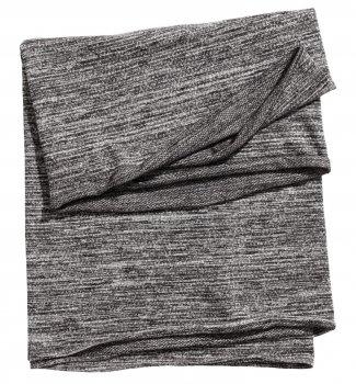 Снуд H&M 112-5484516 80x65 Черно-серый (hm02390348865)