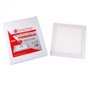 LED панель ElectroHouse квадратна 18W 225х225мм