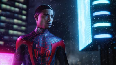 Игра Marvel Spider-Man: Miles Morales Ultimate Edition для PS5 (Blu-ray диск, Russian version)