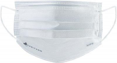 Медицинские маски Abifarm M95 3х слойные, 99.9% защиты, 10 шт (4820238360013)