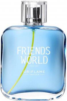 Туалетная вода для мужчин Oriflame Friends World For Him 75 мл (33384) (ROZ6400105375)