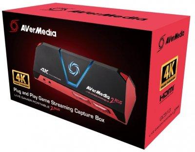 Стриминг устройство AverMedia Live Gamer PORTABLE 2 Plus GC513