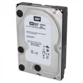 """Жорсткий диск 3.5"""" 2TB WD (#WD20EURX-FR#) Recertified"""