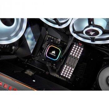 Система водяного охлаждения Corsair iCUE H115i RGB PRO XT (CW-9060044-WW), Intel: 2011/2066/1151/1150/1155/1156, AMD: TR4/AM4/AM3/AM2, 322х137х27 мм