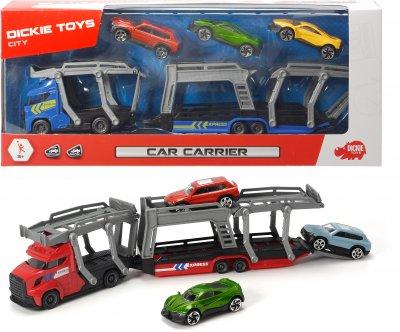 Автотранспортер Dickie Toys с 3 машинками 28 см 2 вида (3745008)