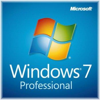 MS Windows 7 Professional SP1 64-bit Russian OEM DVD (FQC-08297)