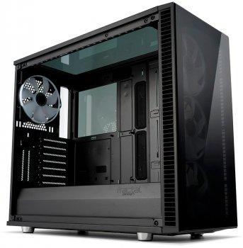 Корпус Fractal Design Define S2 Blackout с закаленным стеклом Black (FD-CA-DEF-S2V-BKO-TGD)