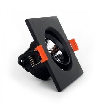 LED світильник ElectroHouse стельовий чорний 5W кут повороту 45° 4100К