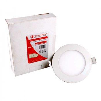 LED панель ElectroHouse кругла 6W 4100К 540Lm Ø120мм