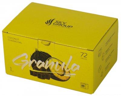 Уголь для кальяна Sky Group Granula 1 кг в коробке
