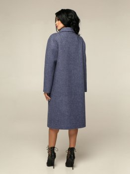 Пальто Favoritti В-1241 Синее