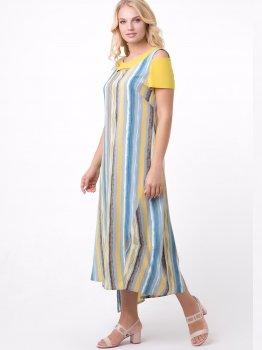 Плаття All Posa 4913-9 Лія Жовте