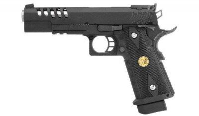 Пістолет страйкбольный WE H002-Hi-Capa 5.1 K GBB Pistol