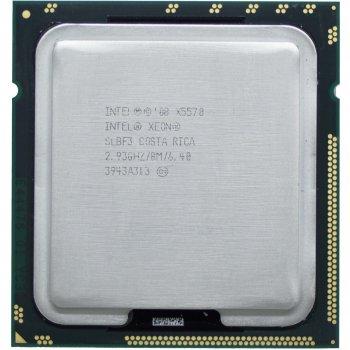 Процесор Intel Xeon X5570 2.93 GHz/8MB/6.40 GT/s (SLBF3) s1366, tray