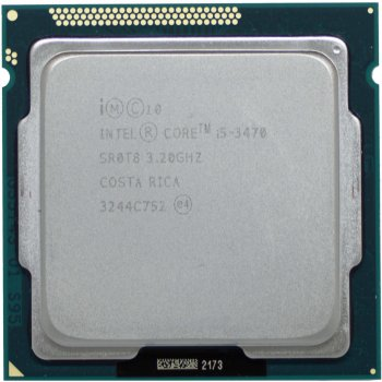Процесор Intel Core i5-3470 3.2 GHz/6MB/5GT/s (SR0T8) s1155, tray