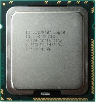 Процесор Intel Xeon E5630 2.53 GHz/12MB/5.86 GT/s (SLBVB) s1366, tray