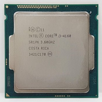 Процесор Intel Core i3-4160 3.6 GHz/3MB/5GT/s (SR1PK) s1150, tray