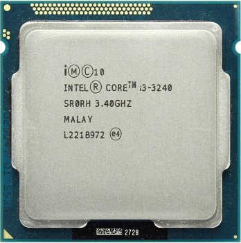 Процесор Intel Core i3-3240 3.4 GHz/3MB/5GT/s (SR0RH) s1155, tray