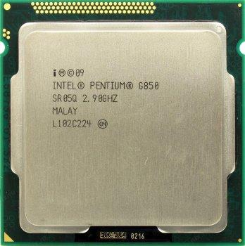 Процессор Intel Pentium Dual-Core G850 2.9GHz/3MB/5GT/s (SR05Q) s1155, tray