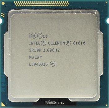 Процесор Intel Celeron G1610 2.6 GHz/2MB/5GT/s (SR10K) s1155, tray