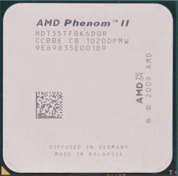 Процесор AMD Phenom II X6 1055T 2.8 GHz/6MB/2000MHz (HDT55TFBK6DGR) sAM3, tray
