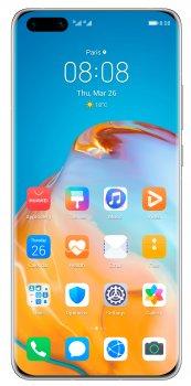 Мобільний телефон Huawei P40 Pro 8/256GB Silver Frost Slim Box