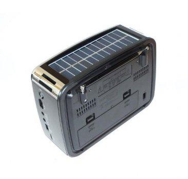 Радіо портативна колонка MP3 USB з сонячною панеллю Golon RX-456S Solar